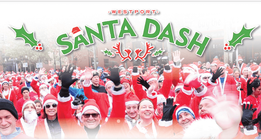 Westport Santa Dash 5K 2018 - Kansas City
